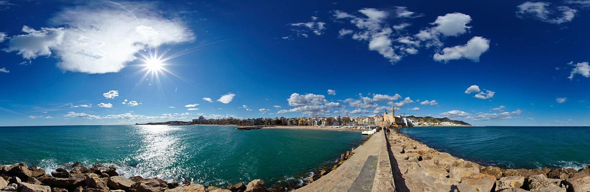 Sitges, Creative, Panorama, 360